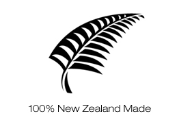 100% New Zealand made.